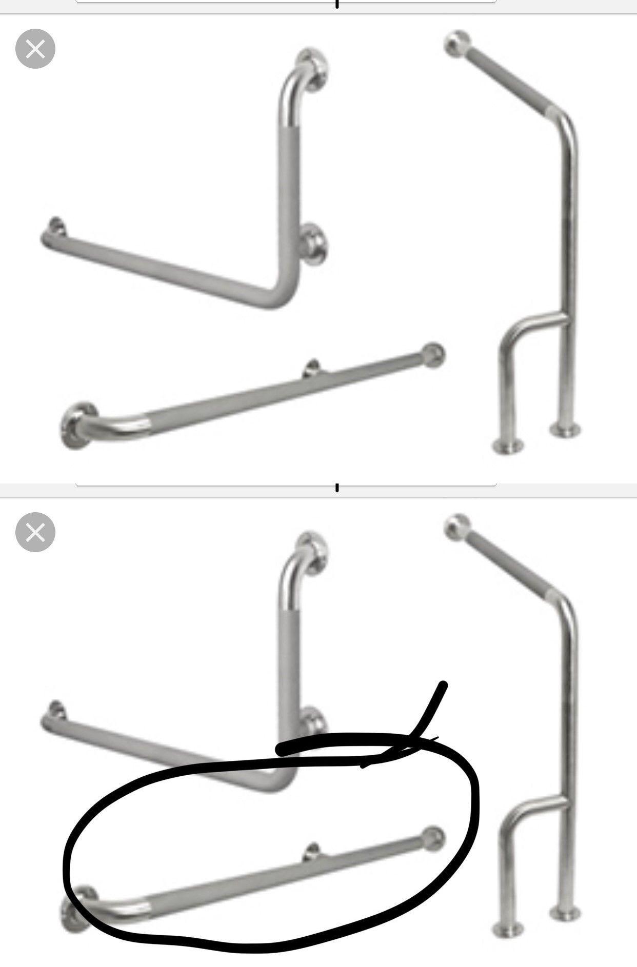 Handicap grab bar bathtub bathroom accessories shower safety inch