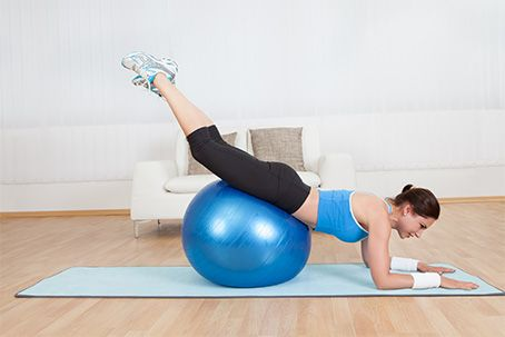 30 swiss ball exercises for the upper body abs back and