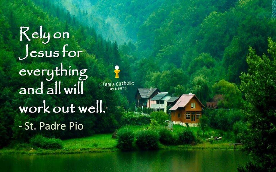 St Padre Pio quote