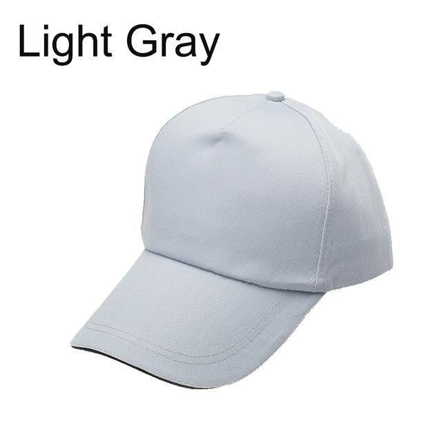 94c56817472 Custom baseball cap print logo text photo embroidery gorra casual solid  hats pure color black cap Snapback caps for men women