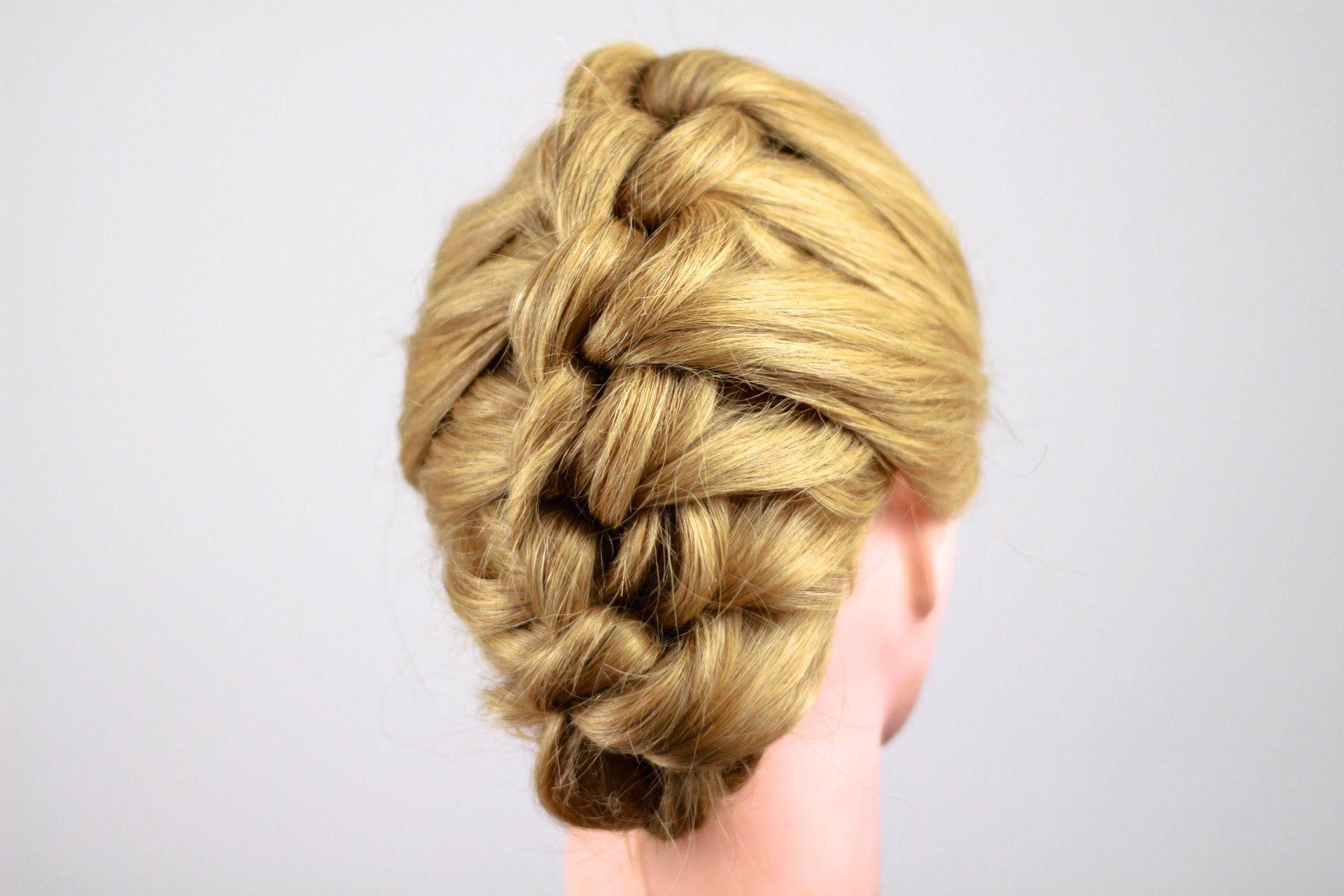 Узелковая коса. Knot Braid Tutorial