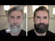 Dyeing Your Hair And Beard Greg Berzinksy Youtube Dyeing Beard