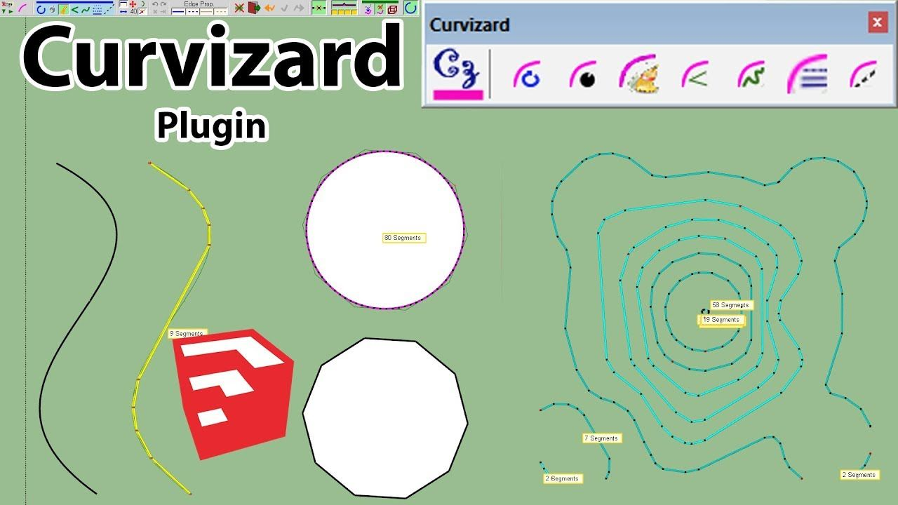 How To Use Curvizard Plugin In SketchUp | Sketchup Plugins