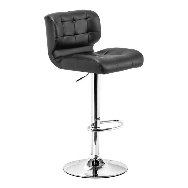 Zuo Formula Bar Chair In Black Adjustable Bar Stools Bar Chairs Black Bar Stools