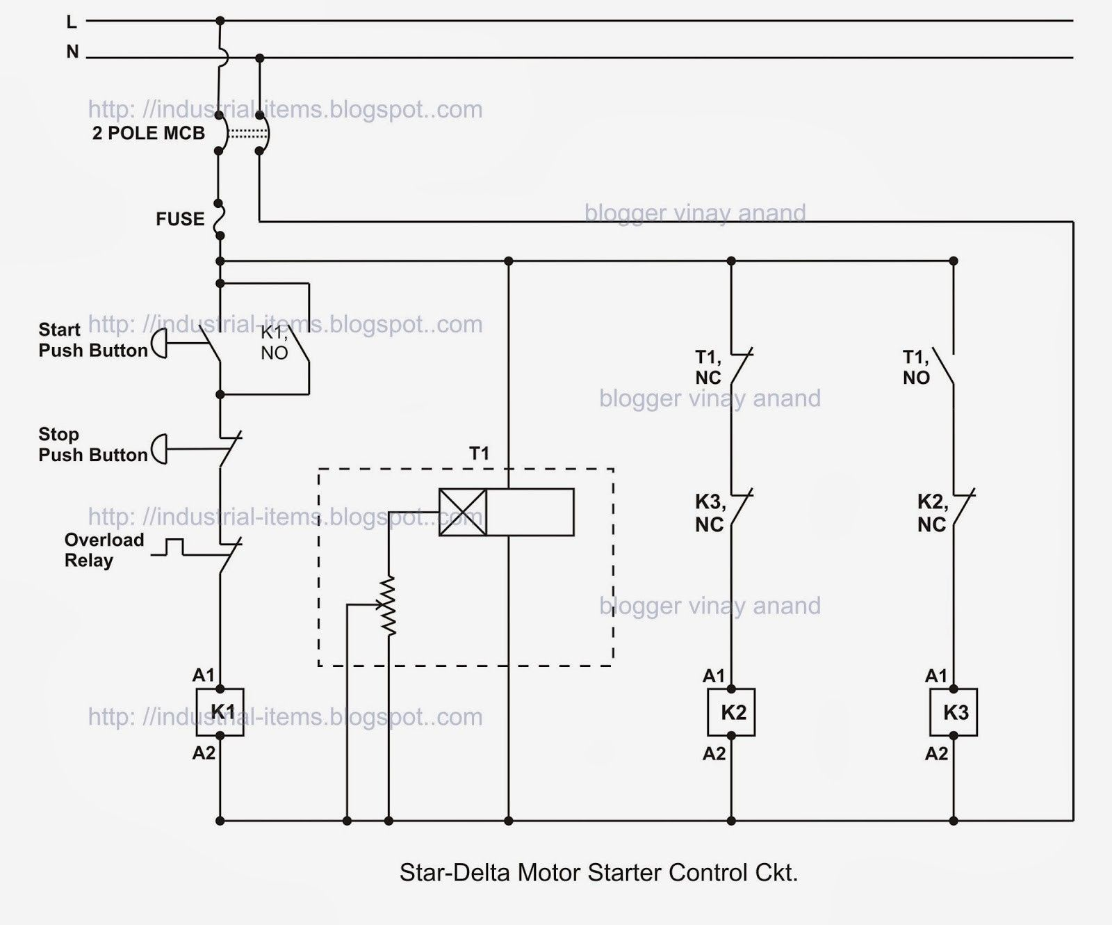 Wiring Diagram For 3 Phase Ac Motor