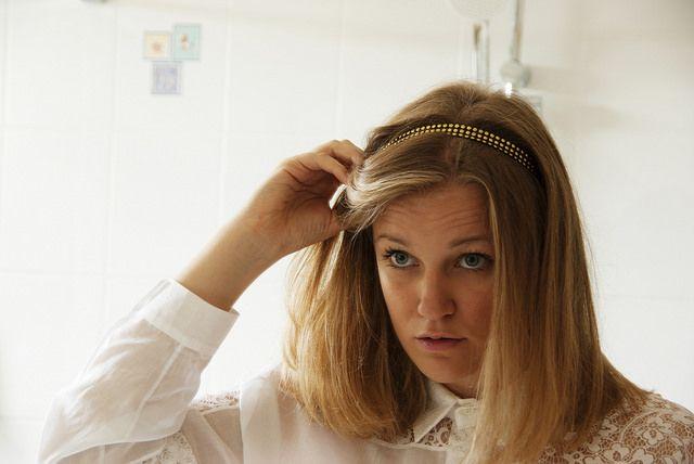 Épinglé sur Coifures avec un headband