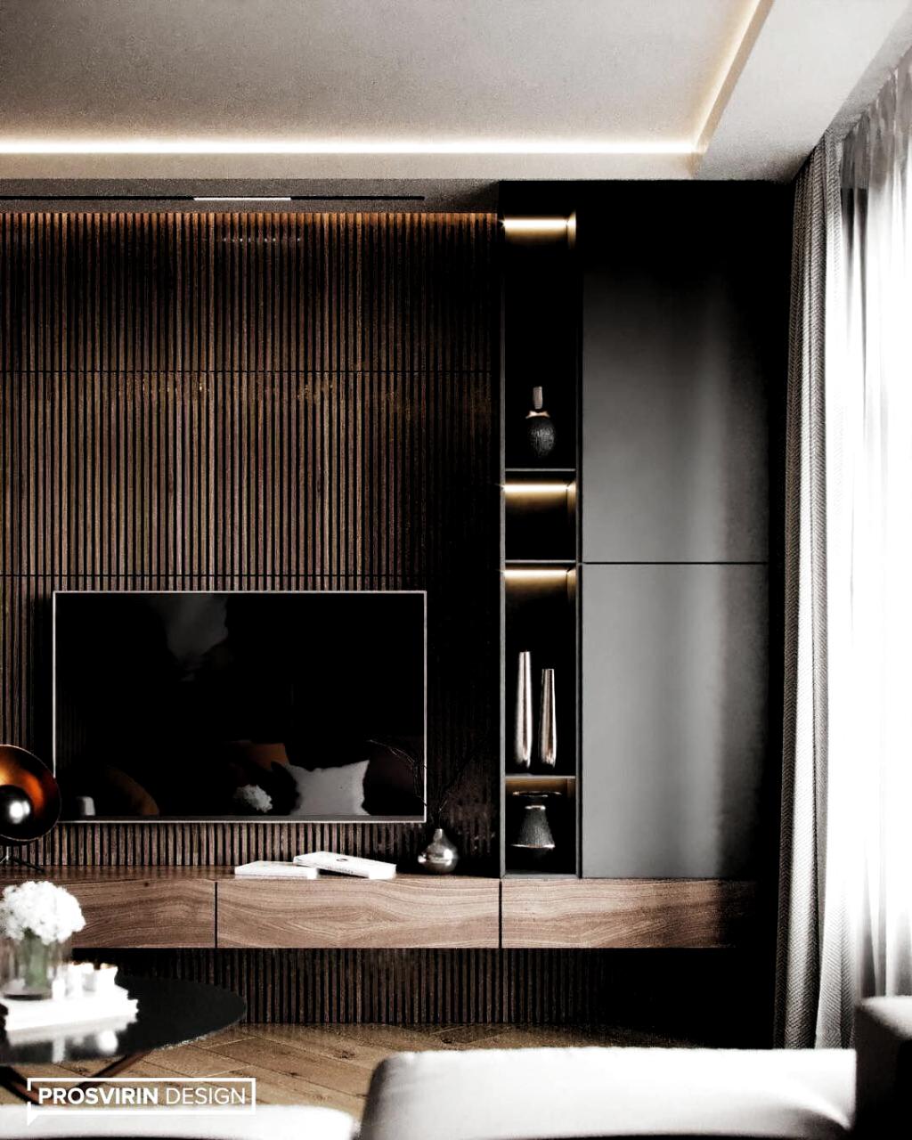 Pin by Marc Scheiflinger on Salon   Tv room design, Room design ...