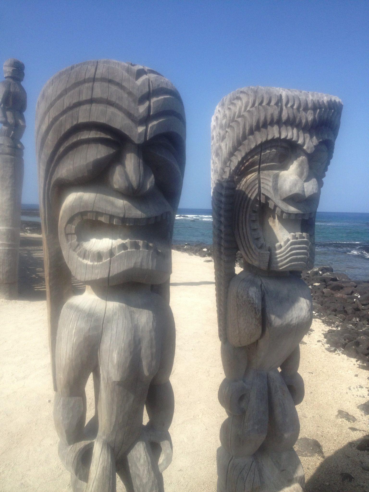 Kane & Lono, Puu Honua O Honaunau