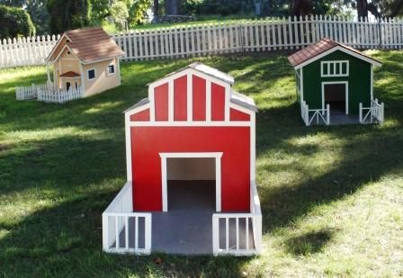 Who Let The Dogs Out Goat Barn Dog House