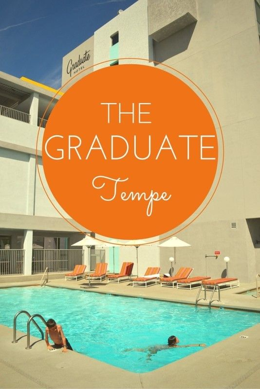 The Graduate Hotel In Tempe Arizona Is Across Street From Asu And Two Blocks Mill Avenue We Found That It S A Fun Option For Families Too