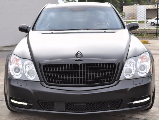Celebrity Auto Group >> Motorvation A K A Matte Black Maybach By Celebrity Auto