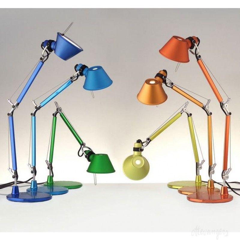 Artemide Tolomeo Micro Table Lamp Lamp Design Lamp