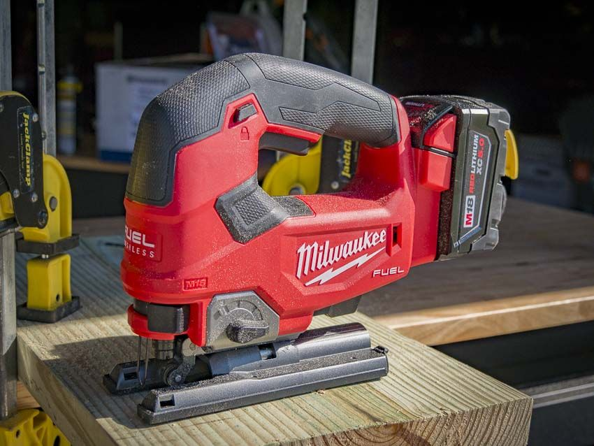 Milwaukee M18 Fuel Jig Saw 2737 21 Review Woodworking Jigsaw Milwaukee Milwaukee Fuel