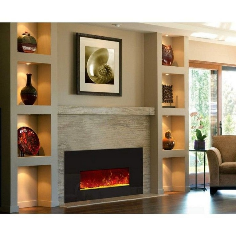 17 Modern Fireplace Tile Ideas Best Design Living Room With