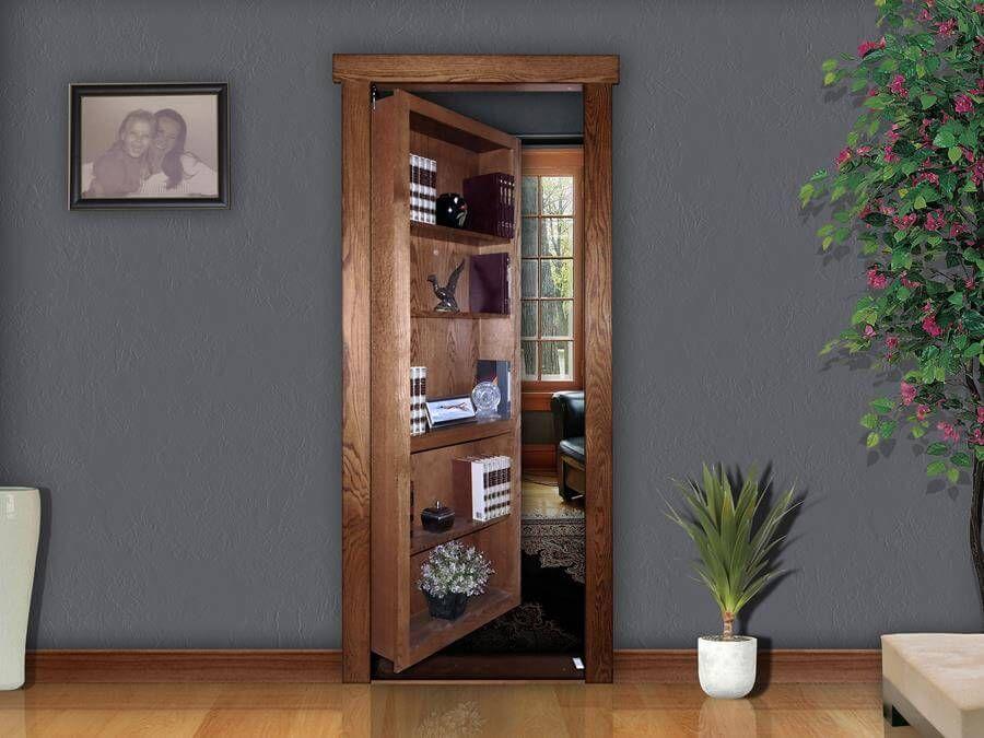 Gallery murphy door secret door the murphy door