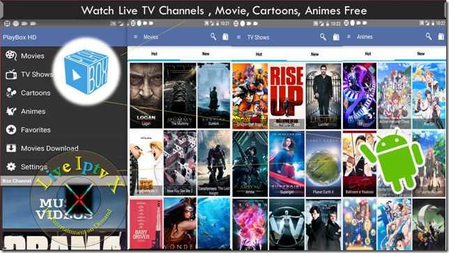 Watch TV Stream Online PlayBox HD Apk For Android Device