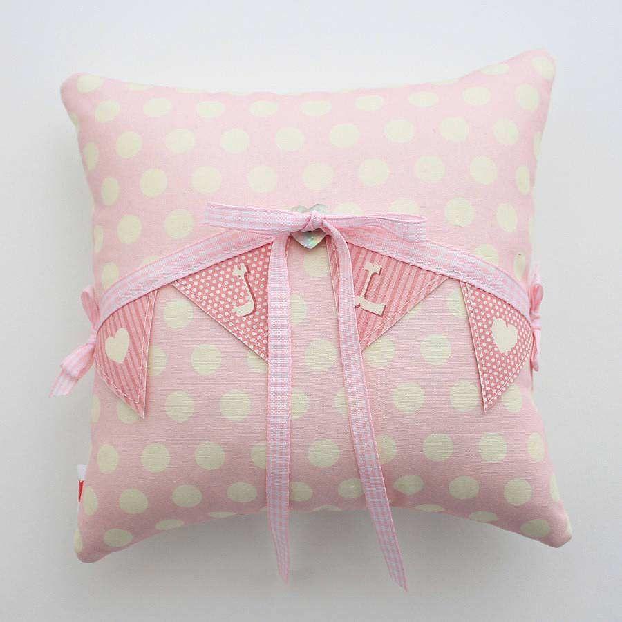 15 Beautiful Ring Bearer Pillows | Wedding ring cushion, Vintage ...
