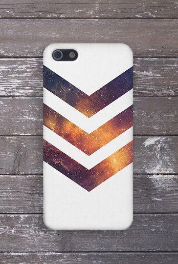 buy popular d4d35 52914 White Chevron Galaxy Stars Case, iPhone Xs, iPhone 8 Plus ...