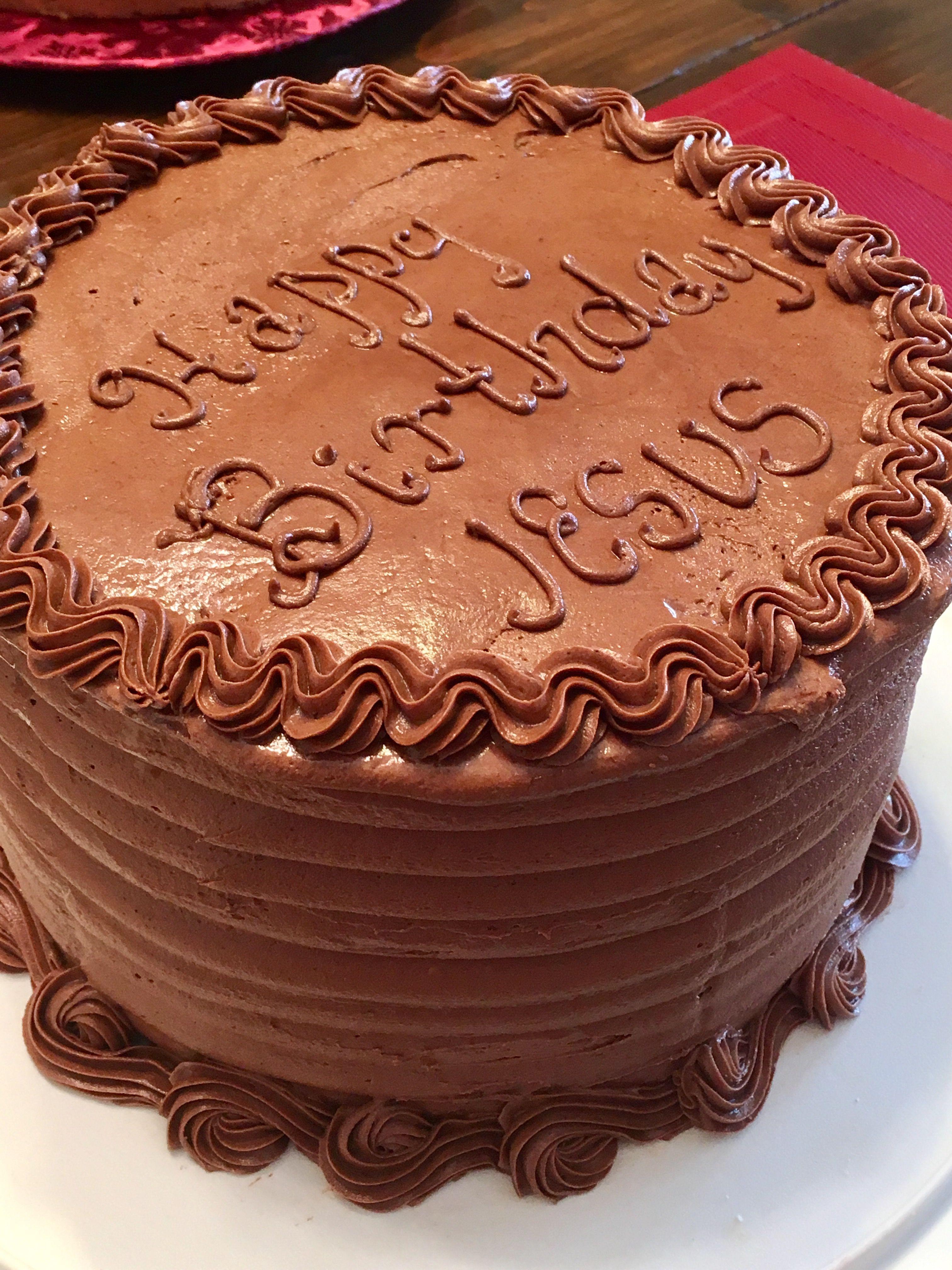 Happy birthday jesus cake cake desserts happy birthday