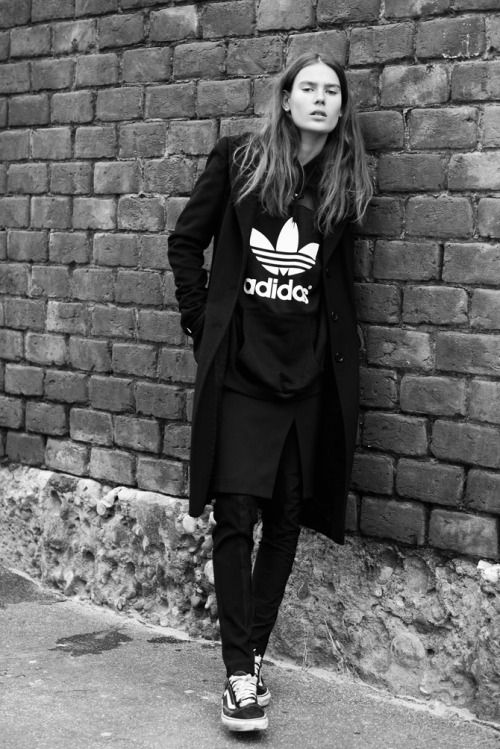 black adidas shoes lookbook store glam 590369