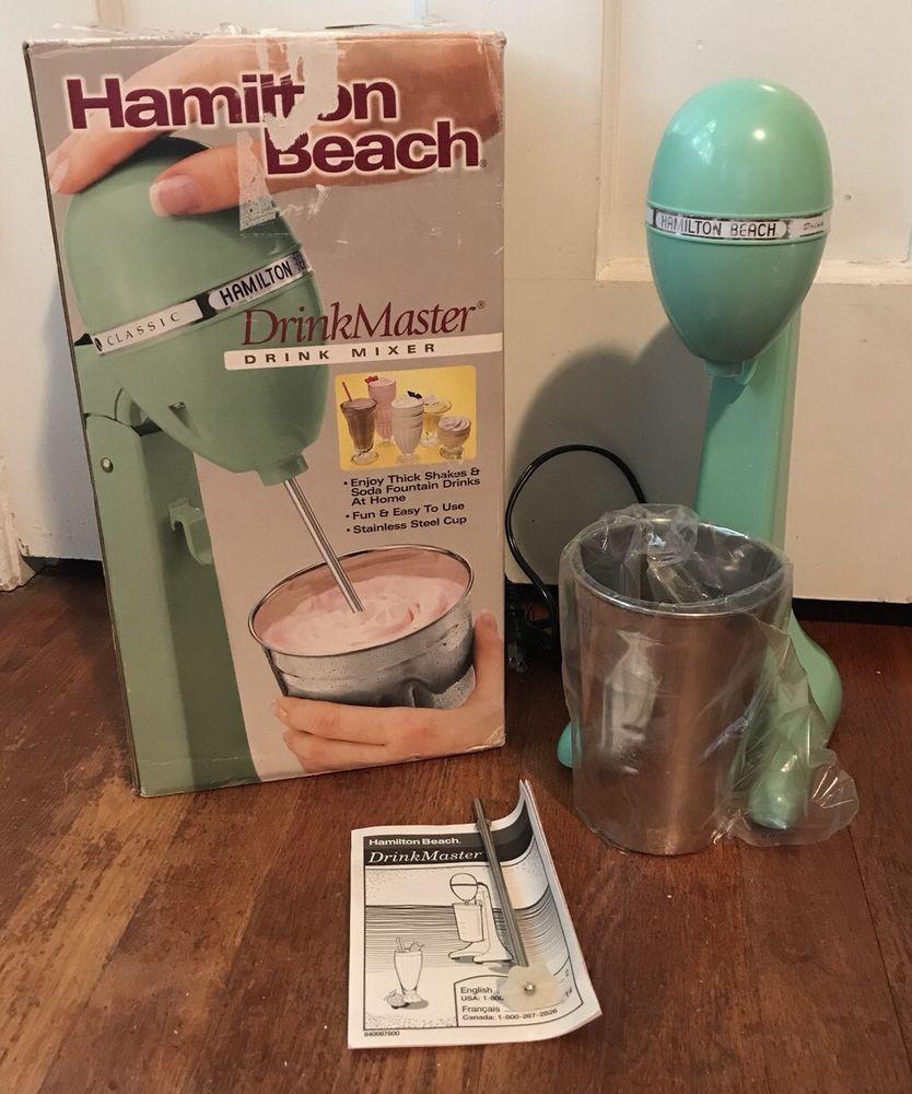 Hamilton Beach Drink Master Classic Jade Green 65250