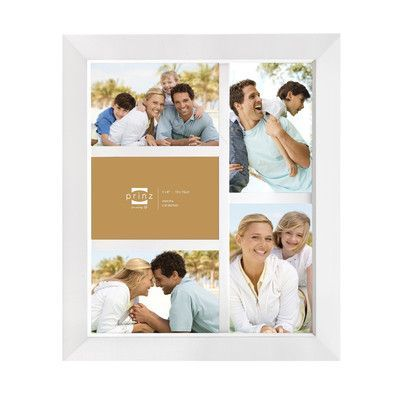 Prinz Five Opening Dakota Solid Wood Wall Picture Frame Color: