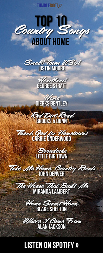 Top 10 Country Songs About Home Country Music Country Songs