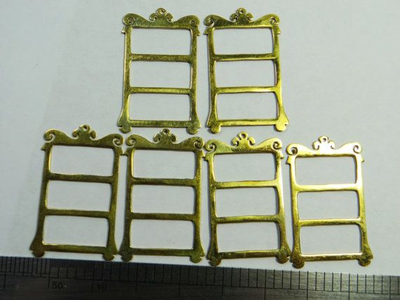 Brass stampings Hand Cut Ladders or Bookcases 6 by DrBrassyVintage, $5.99