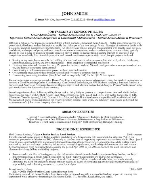 click here to download this senior administrator resume