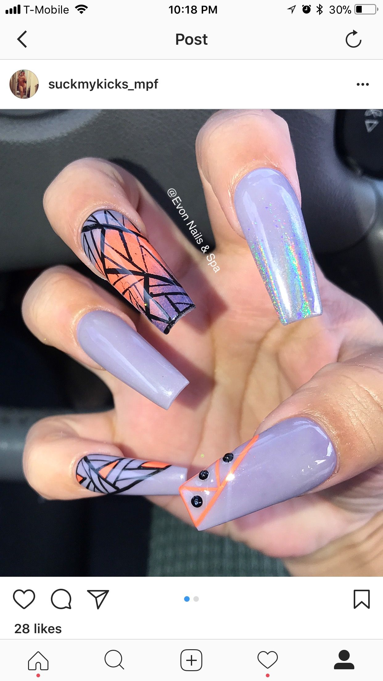 Pin by Evon Nails & Spa on Evon nails & spa . Instagram @ evon nails ...