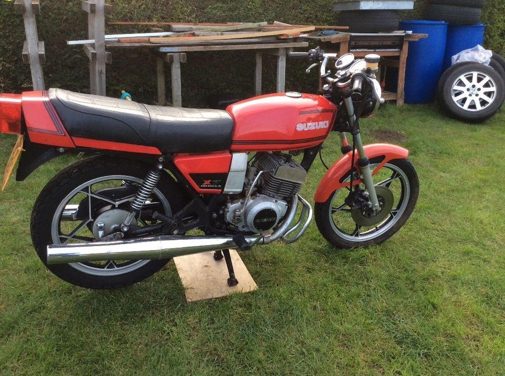 1979 Suzuki Gt250 X7 Uk Bike Spares Repair Or Restoration Suzuki Bike Repair