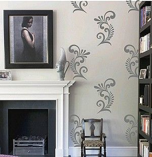 Modish Ornaments Wall Decals Trendy Designs L And Stick Lots Of Colors