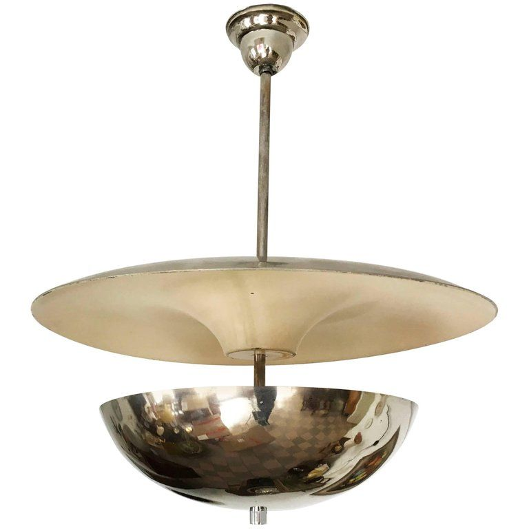 Very Rare Bauhaus Circular Chandelier By Franta Anyz Circular Chandelier Chandelier Chandelier Pendant Lights