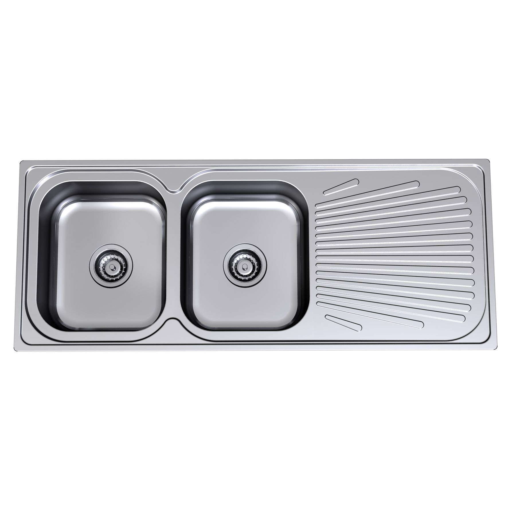 Clark 1180mm Stainless Steel Sink 1129.1r - Bunnings Warehouse ...