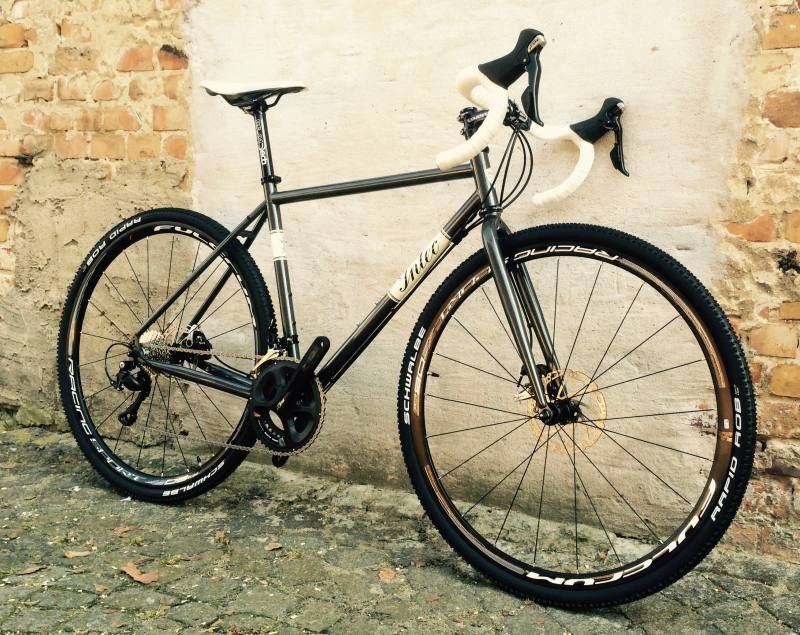 Intec F10 DISC 105 Cyclocross Rad Elegantes Stahlrahmenrad mit Disc ...