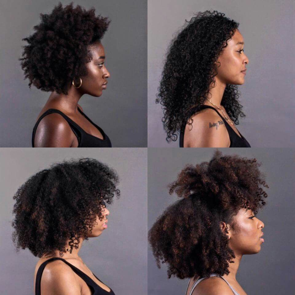 4 beautiful different curl patterns Blessed with 4 myself