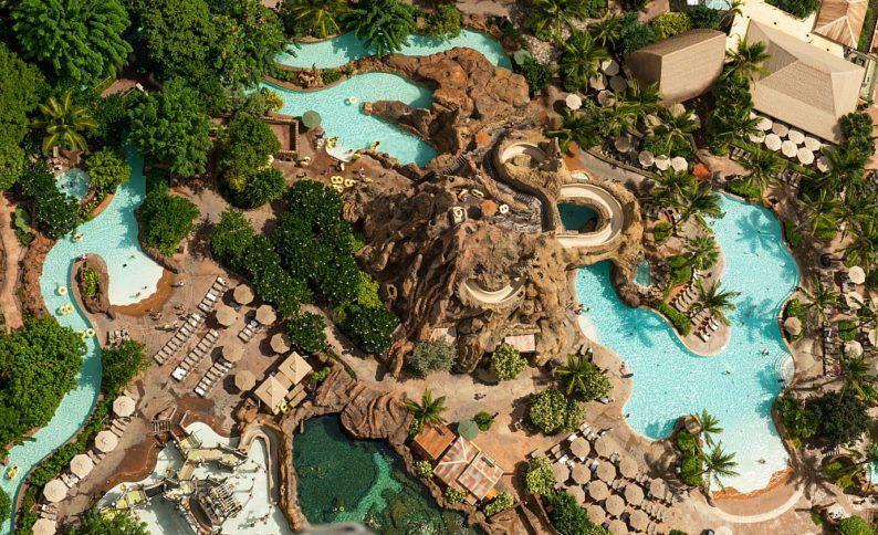 Disney Aulani Resort S Impressive Pool Complex Best Hotel Pools In Hawaii For Families Hotelspool