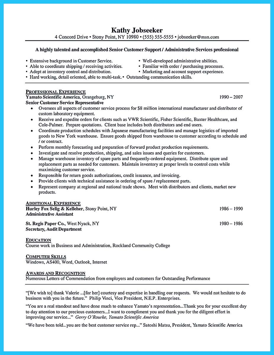 Well Written Resume Classy Cool Well Written Csr Resume To Get Applied Soon  Resume Template