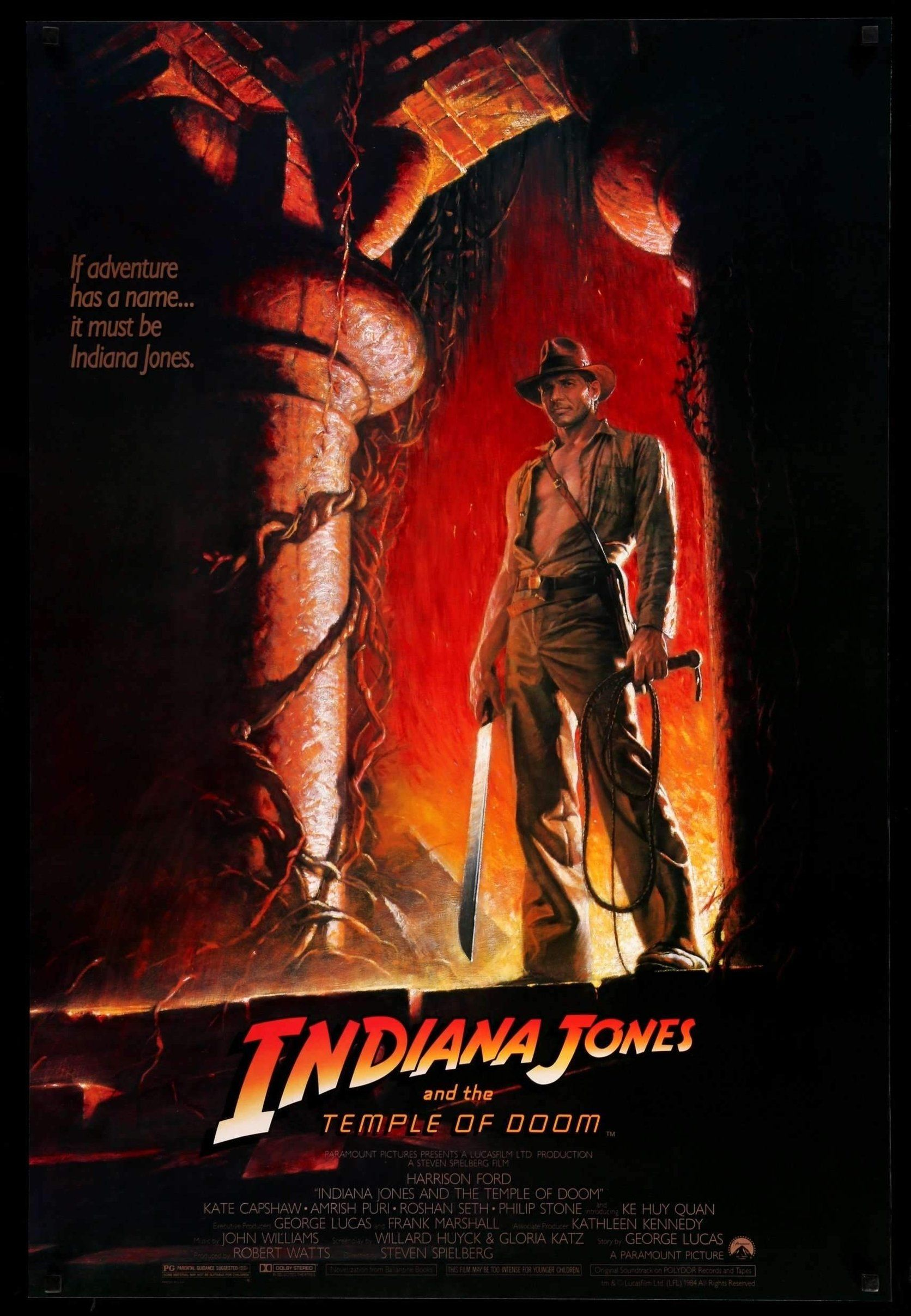 indiana jones and the temple of doom 1984 fun ideas