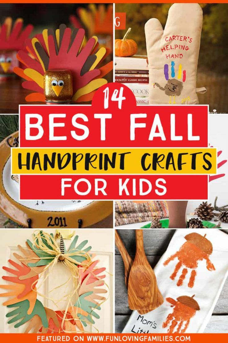 25 Fall Handprint Crafts Youll Treasure Forever