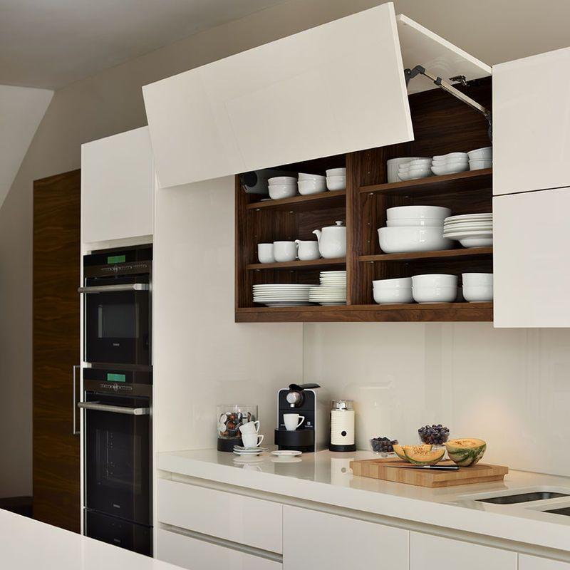 Blat Z Konglomeratu Kuchnia Styl Nowoczesny Aranzacja I Wystroj Wnetrz Kitchen Interior Design Modern Contemporary Kitchen Kitchen Design