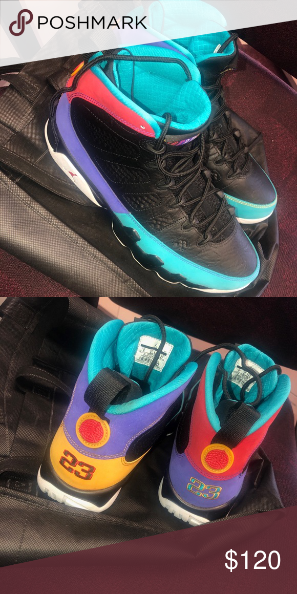 codice promozionale scarpe esclusive buona vendita Men Air Jordan 9's Brand new Multicolor black tribal Jordan's ...