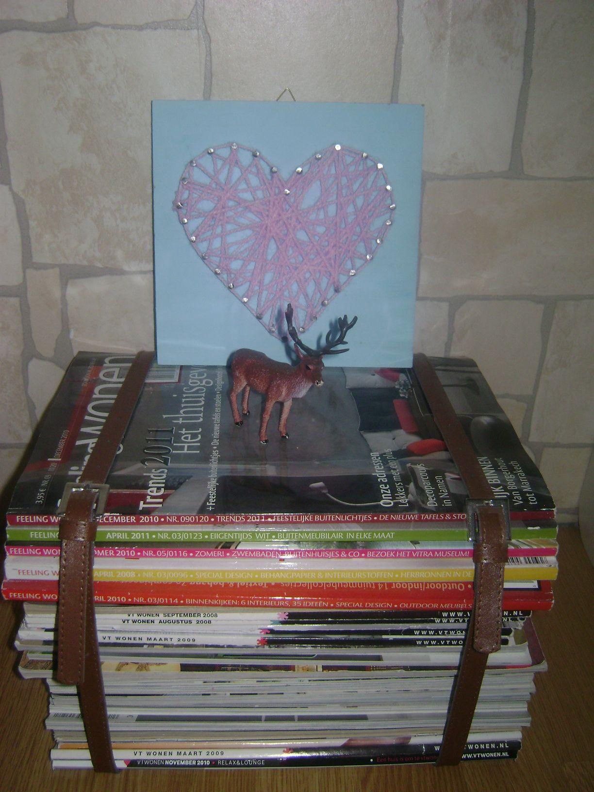 Krukje met oude tijdschriften!