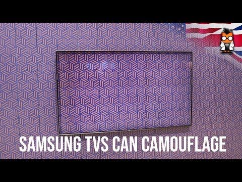 Samsung TVs can blend in your wall like chameleon