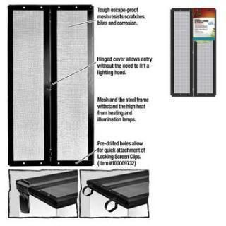 Zilla Metal Screen Scover W Hinge 20x10 Metal Screen Energy Saver Cover