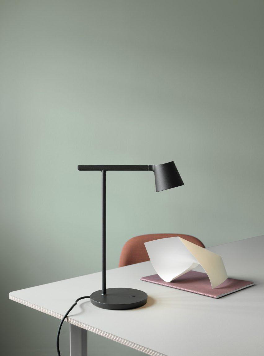 Tip Lamp by Jens Fager for Muuto Lighting. | Desk lamp