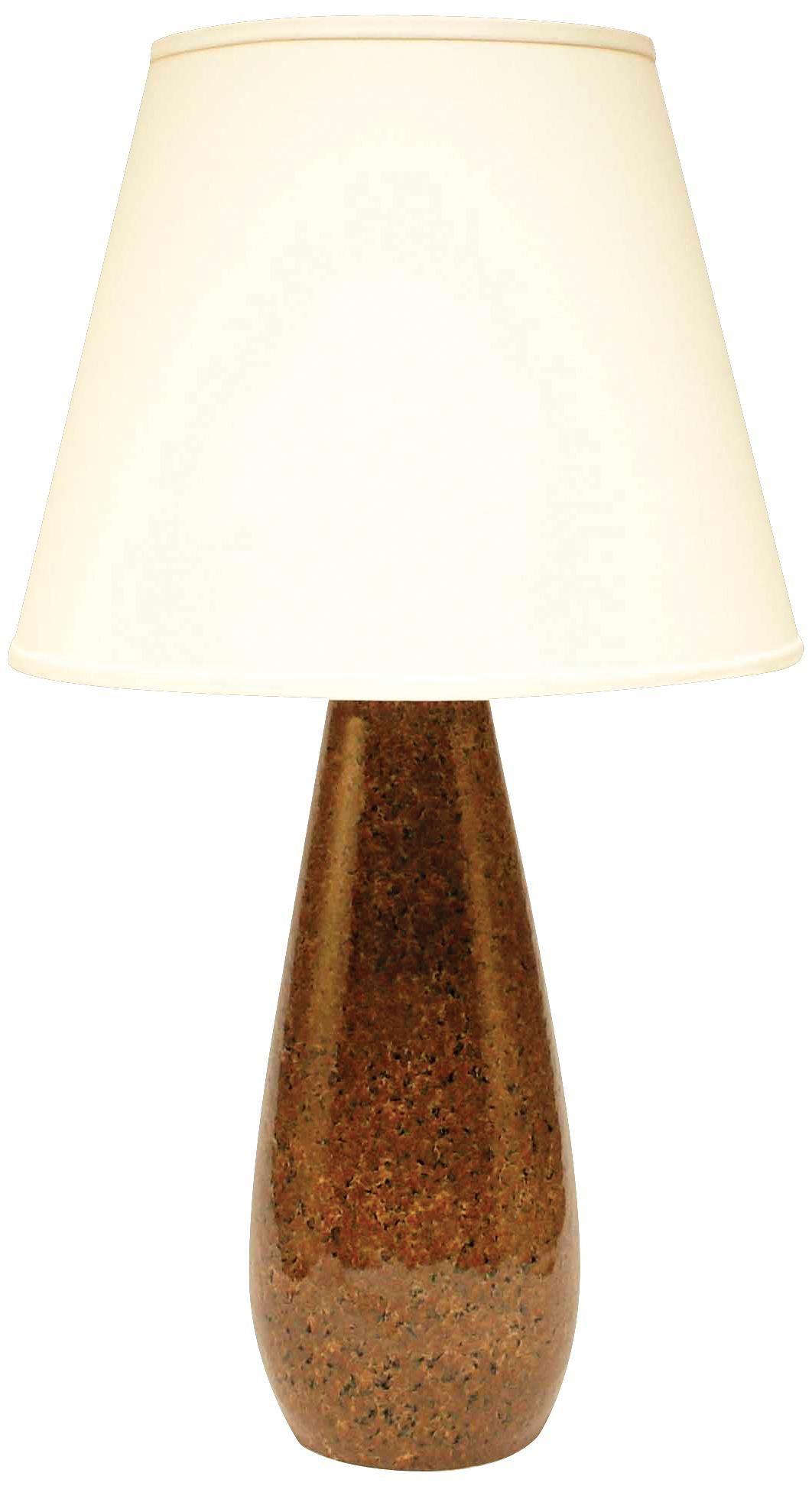 Haeger Potteries Mahogany Stone Ceramic Tear Drop Table Lamp P1952 Lamps Plus Table Lamp Lamp Ceramic Lamp Base
