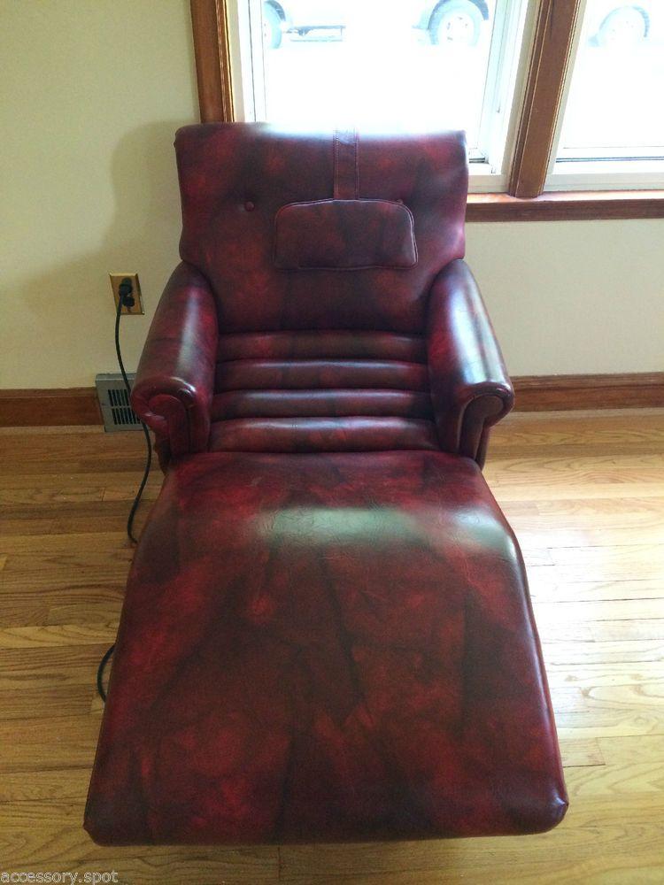 Contour chair lounge mid century modern electric massage