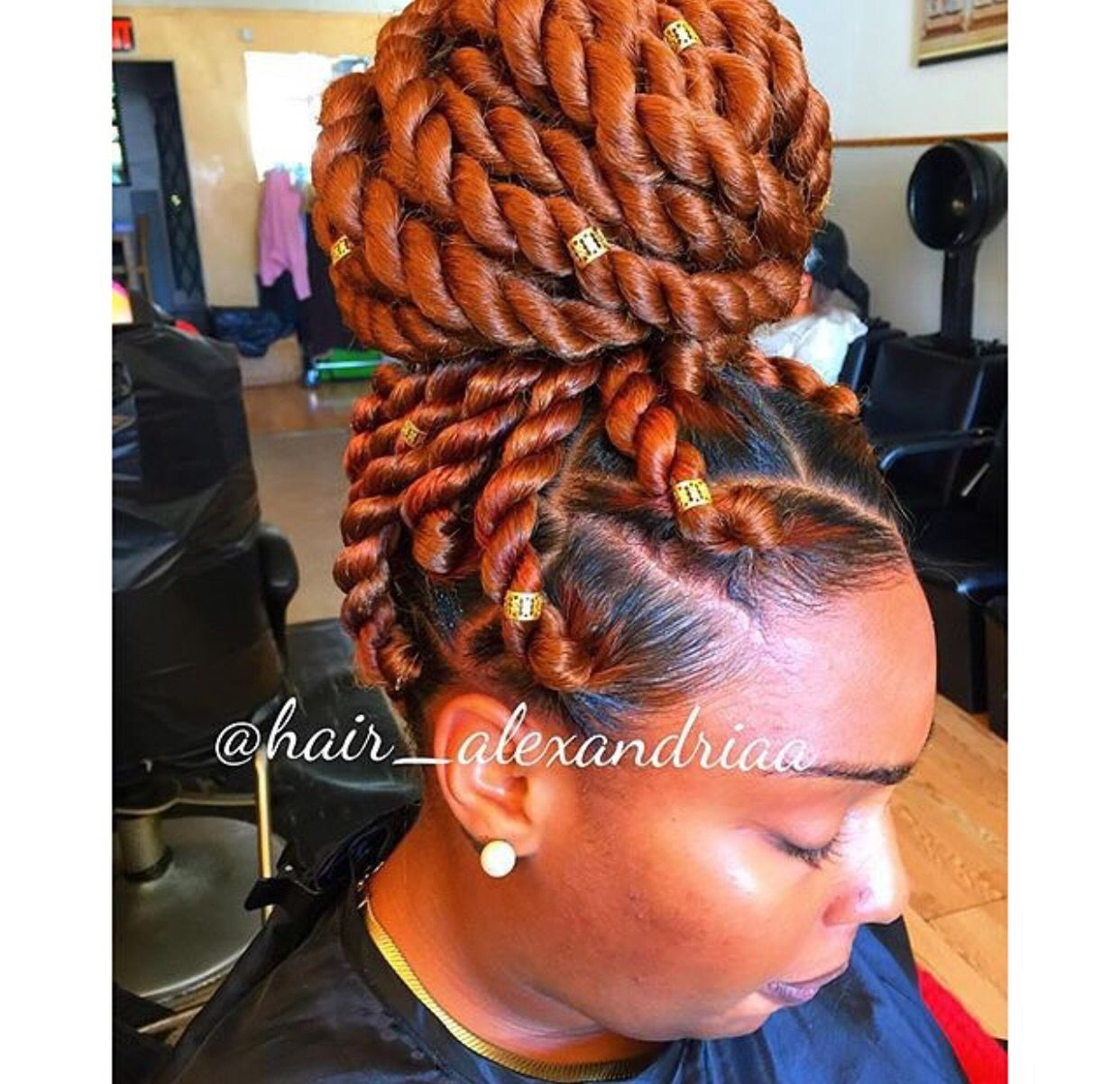 Havana twists crochets pinterest hair style marley twists and