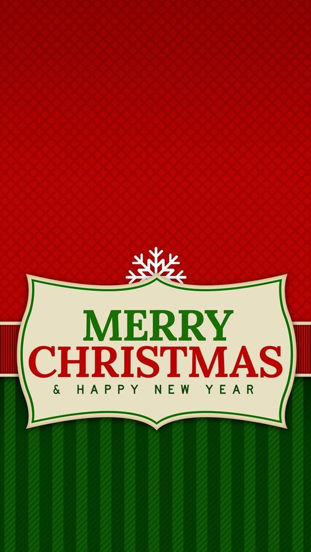 Iphone Wallpaper Merry Christmas Happy New Year Tjn Iphone